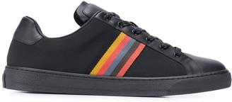 Paul Smith Rainbow Stripe 25mm Low-Top Sneakers