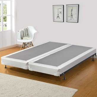 Spinal Solution Queen Split Wood Box Spring Spinal Solution Height: Low Profile