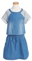 Vigoss Girl's Cutest Denim Dress