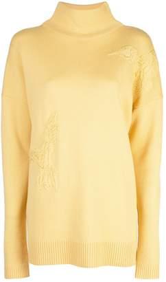 Altuzarra Bromley bird embroidered jumper