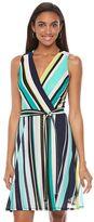 Apt. 9 Women's Print Faux-Wrap Dress