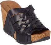 Chocolat Blu Atlantic Leather Wedge Sandal