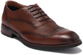 Steve Madden Langdon Leather Embossed Wingtip Oxford