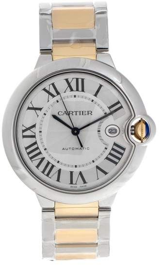 Cartier Ballon Bleu W69009Z3 Yellow Gold & Stainless Steel 42mm Watch