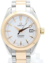 Omega Seamaster Aqua Terra Pink Gold / Stainless Steel with White Dial Automatic 30mm Womens Watch