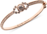 Givenchy Rose Gold-Tone Crystal Bangle Bracelet