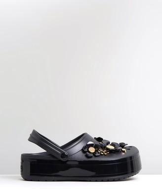 Crocs Crocband Platform Metallic Blooms Clogs