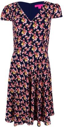 Betsey Johnson Women's Printed Floral Dress