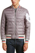 Moncler Gamme Bleu Quilted Down Bomber Jacket