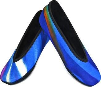 Nufoot Ballet Flats Women's Shoes Best Foldable & Flexible Flats Slipper Socks Travel Slippers & Exercise Shoes Dance Shoes Yoga Socks House Shoes Indoor Slippers