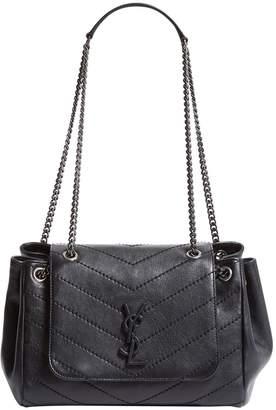 Saint Laurent Small Leather Nolita Shoulder Bag