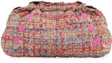 Kooreloo Poumn Multicolored Wool Clutch Bag