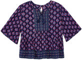Arizona 3/4 Sleeve Blouse - Toddler Girls