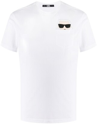 Karl Lagerfeld Paris Ikonik pocket T-shirt