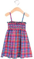Dolce & Gabbana Girls' Plaid Sleeveless Dress