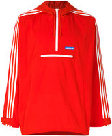 adidas hooded wind breaker - men - Polyester - S