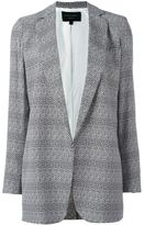 Equipment oversized blazer