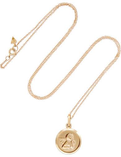 Loren Stewart - Angel 14-karat Gold Necklace