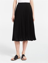 Calvin Klein Midi Pleated Skirt