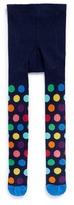 Happy Socks Polka dot kids tights