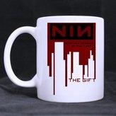 Custom Mugs Nine Inch Nails Band Customized Custom Design Coffee Mugs Beer Mug Ceramic Water Cups Office Home Cup 11 OZ Two Sides Printed