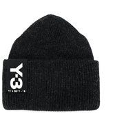 Y-3 Badge Beanie Hat