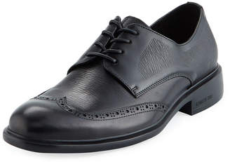Kenneth Cole Men's Wing-Tip Leather Dress Shoes