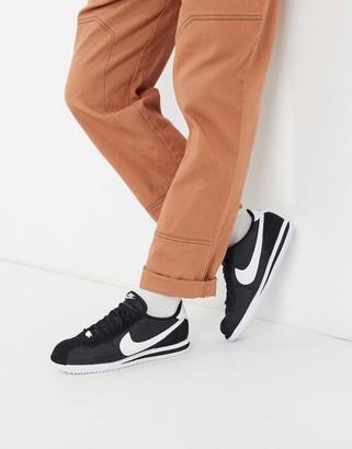 Nike Classic Cortez nylon trainers in black 819720-011