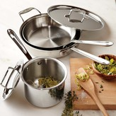 All-Clad d5 Stainless-Steel 5-Piece Cookware Set