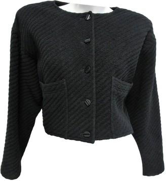 Ungaro Black Wool Jackets