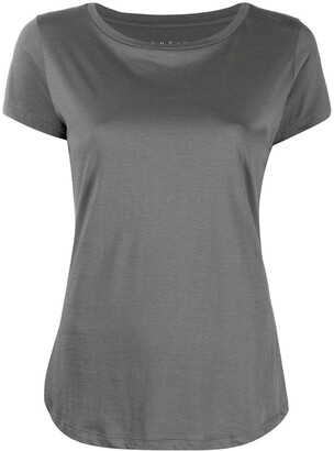 Incentive! Cashmere crew-neck fitted T-shirt