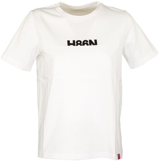 Hogan Short-sleeved Round Neck T-shirt