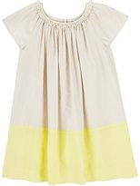 Bonpoint Elodie Colorblocked Cotton Dress
