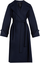 The Row Swells belted gabardine coat
