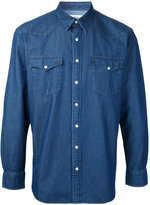 Kent & Curwen denim shirt - men - Cotton - S