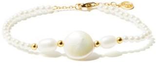 Anissa Kermiche Caviar Pebble Pearl Gold-plated Bracelet - Pearl