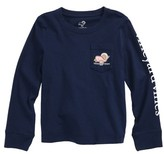 Vineyard Vines Toddler Girl's Turkey Whale Pocket Tee