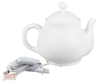 "BIA Kitchen & Home Teapot 10"" Table Lamp"