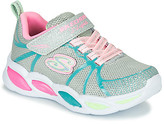 Skechers SHIMMER BEAMS girls's Sports Trainers (Shoes) in Silver