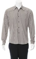 Dries Van Noten Striped Button-Up Shirt