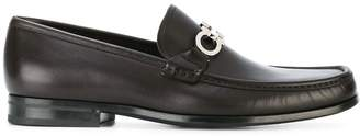 Salvatore Ferragamo double Gancio loafers