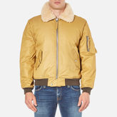 Our Legacy Men's Yolk Yolk Flight Jacket Beige