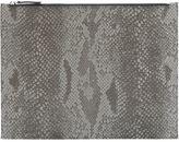 Maison Margiela snakeskin print clutch - men - Polyester - One Size