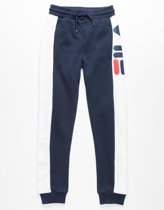 Fila Deanna Navy Girls Jogger Pants