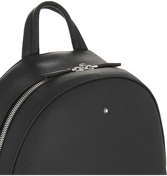 Montblanc Soft grained leather backpack