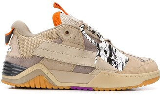 Off-White Zip-Tag Low-Top Sneakers