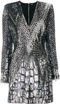 Balmain embellished sequin dress
