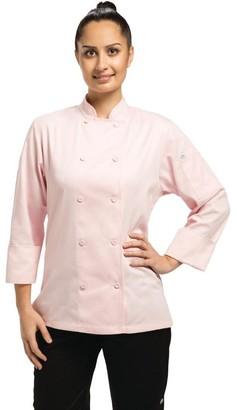 Chef Works Women's Marbella Chef Coat (CWLJ) Pink