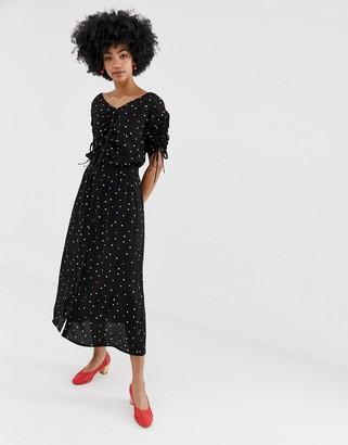 Gestuz Dorothie skirt in multicolour polka dot print