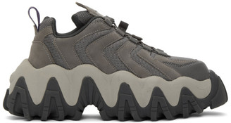 Eytys Grey Nubuck Halo Sneakers